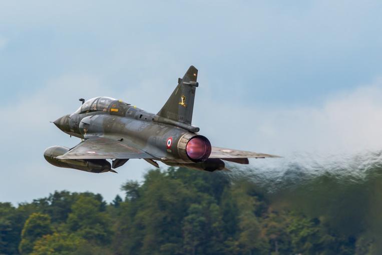 Accident de Mirage 2000: les deux membres d'équipage sont morts