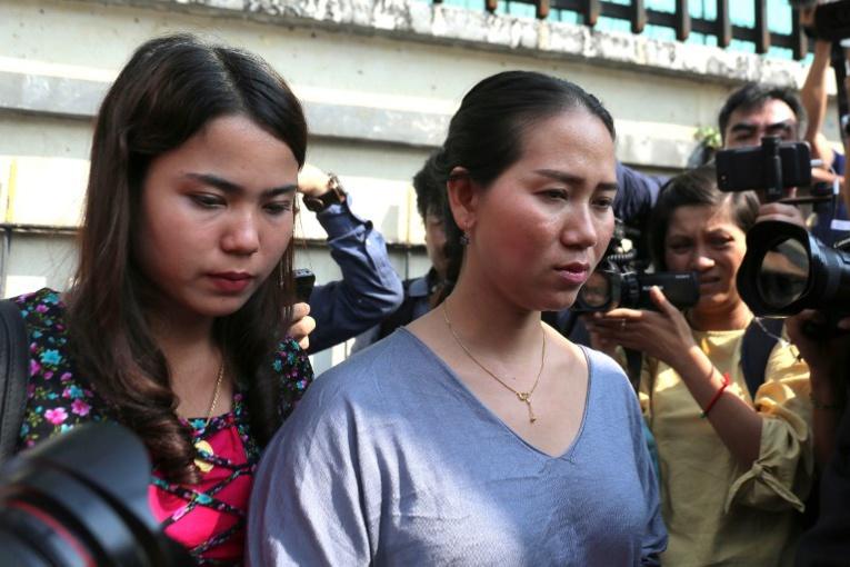 Birmanie : les deux journalistes de Reuters de nouveau condamnés en appel à sept ans de prison