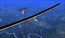 L'avion solaire Solar Impulse réussit son premier vol international