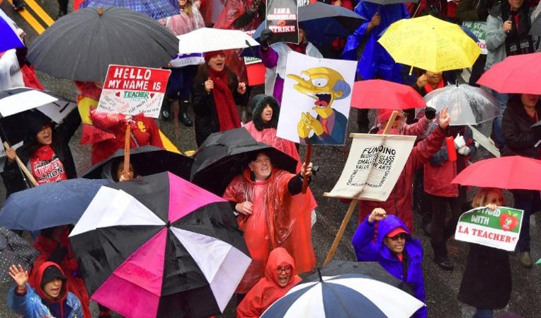 La grève des enseignants de Los Angeles pourrait faire boule de neige aux Etats-Unis