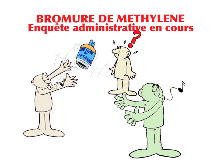 """"""" Bonbonnes de gaz à la dérive, enquête administrative en cours """" par Munoz"""
