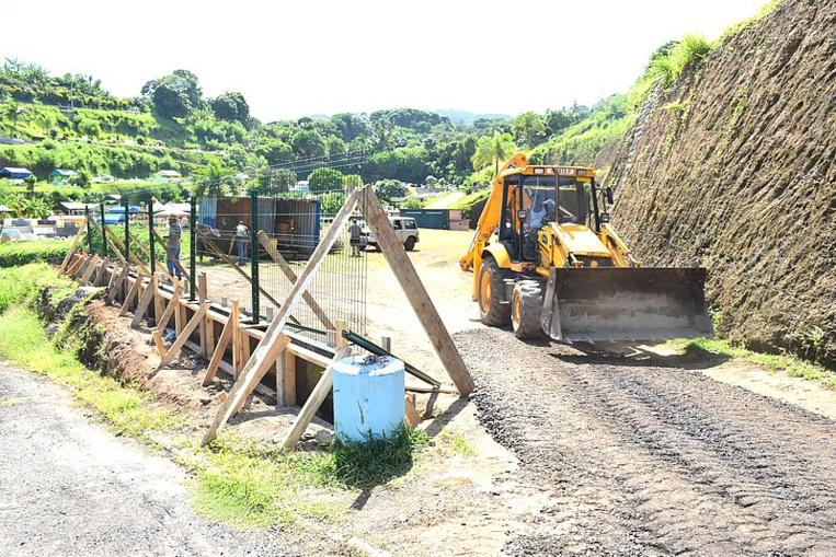 Les travaux ont démarré lundi dernier.