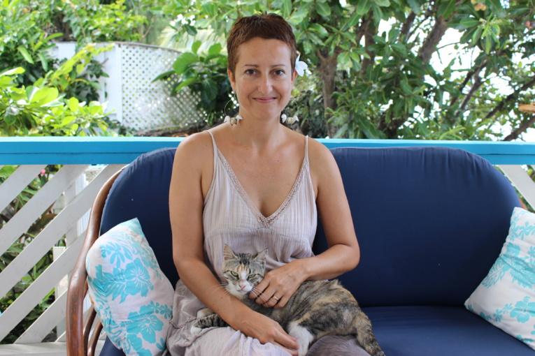 Annabel gauhtier est co-fondatrice de l'école démocratique polynésienne.