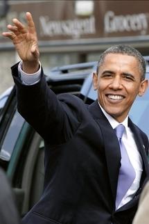 La Cadillac d'Obama bloquée à la sortie de l'ambassade américaine à Dublin