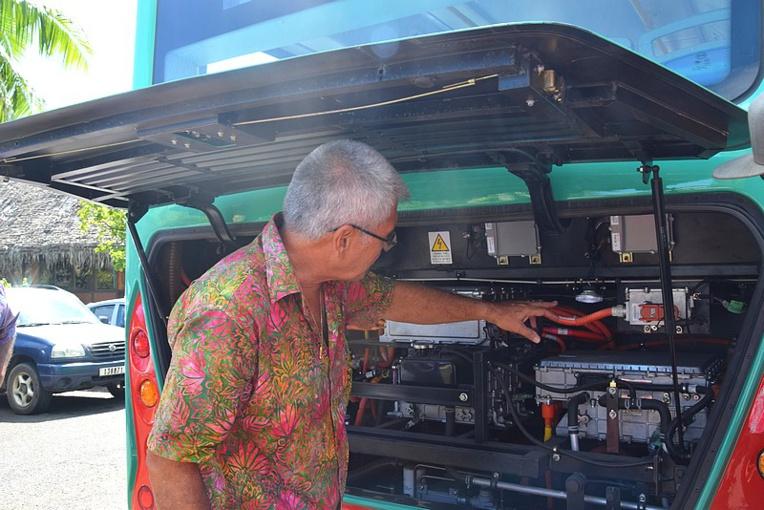 Les batteries de ce bus peuvent fournir suffisamment d'énergie pour effectuer une distance d'au moins 200 kilomètres en milieu urbain.