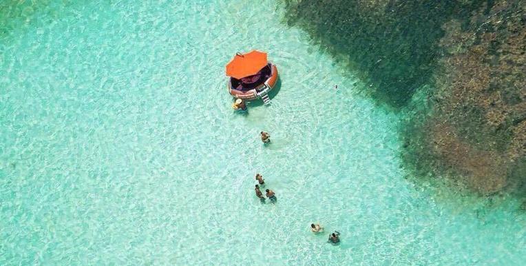 Donuts Boat : voir le lagon autrement