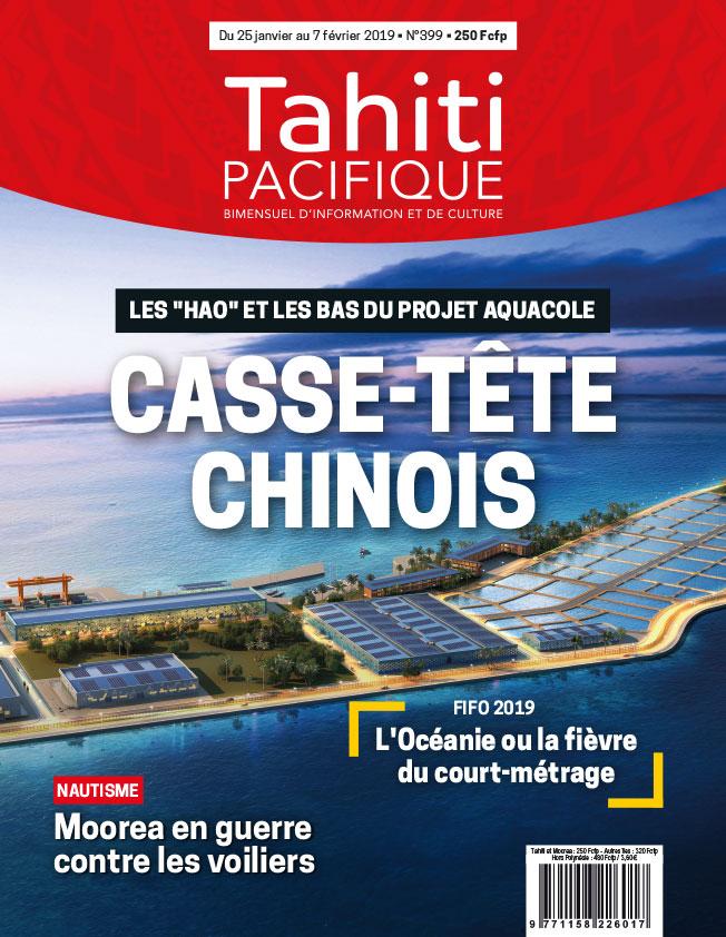 À la Une de Tahiti Pacifique, vendredi 25 janvier
