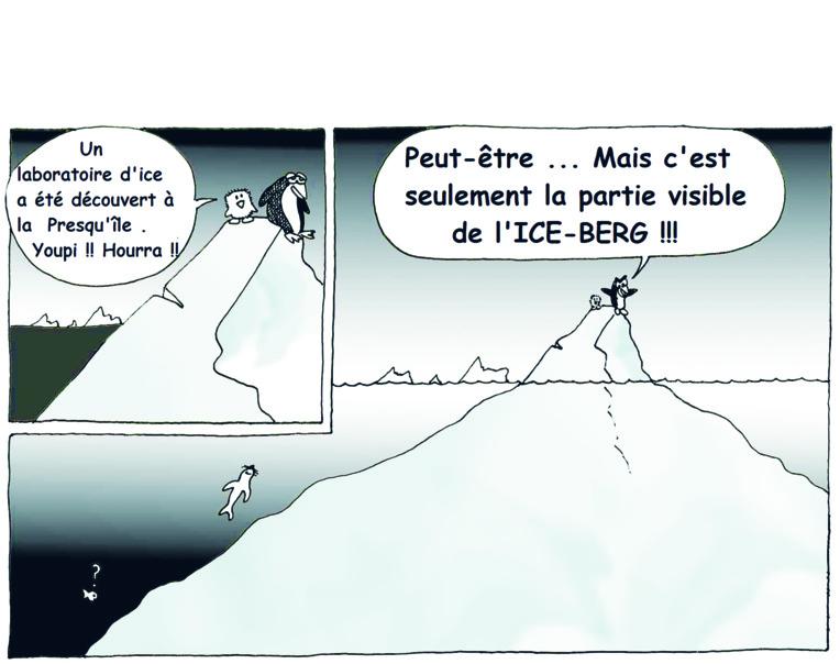""" Labo - Ice "" vu par Munoz"