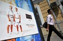 Poutine et Medvedev en short sur de mystérieuses affiches à Moscou