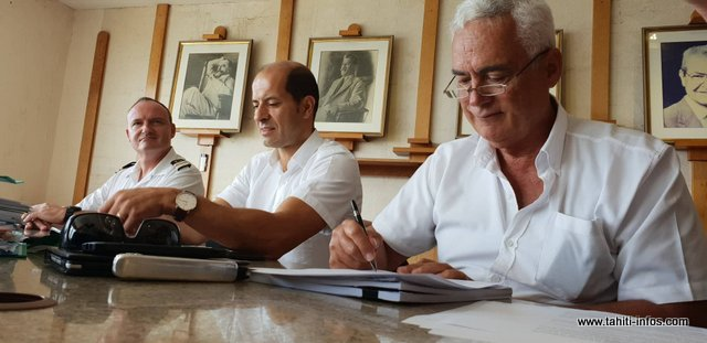 La signature du contrat définitif a eu lieu ce lundi, en présence des représentants de l'Etat.