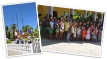 Visite du Haut-commissariat dans les atolls de Arutua, Apataki et de Kaukura