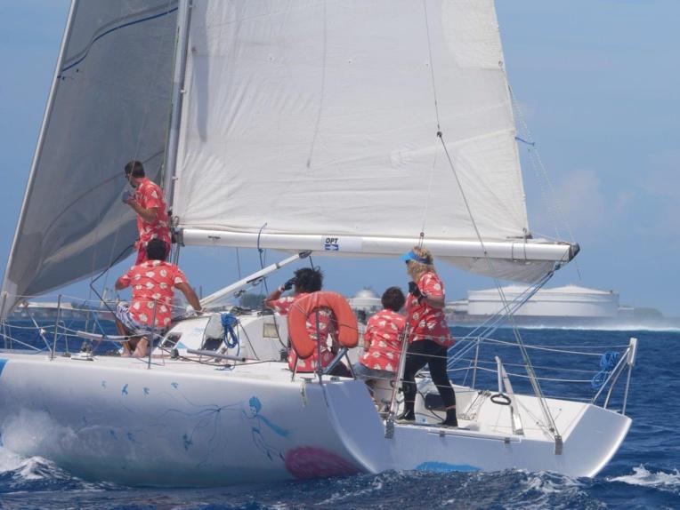 « Le Petit Prince » skippé par le tandem Isabelle Barbeau/Joël Hirlemann complète le podium