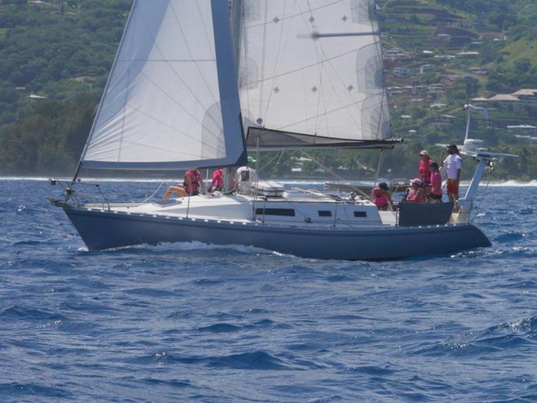 « Taotoo by Lariflete », équipage féminin qui participait pour la première fois