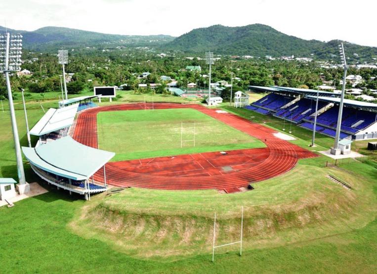 Le compexe sportif d'Apia, la capitale