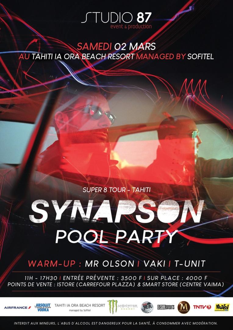 Pool party avec le duo électro Synapson