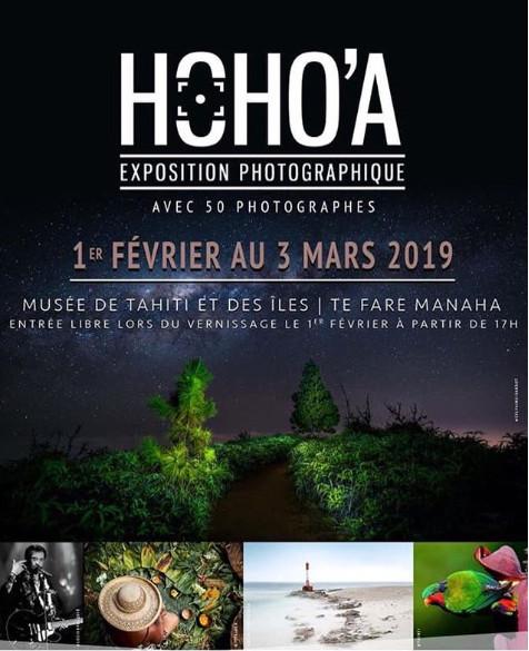 Le vernissage de l'exposition Hoho'a 2019 a lieu ce soir