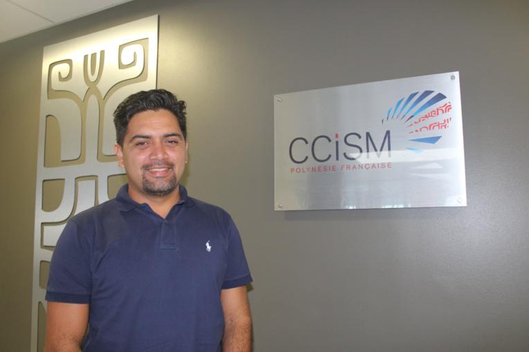 Mike Ah Tchoy est le directeur du Pôle Entreprises de la CCISM.
