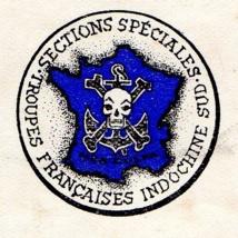 Ecussons des Sections Spéciales. (Collection privée).