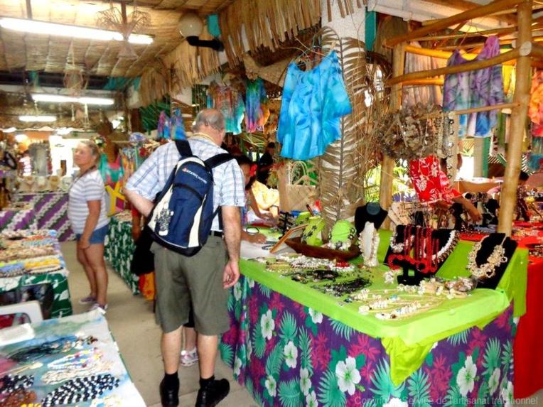 Le centre artisanal de Bora Bora est mis à la disposition de la fédération des artisans de l'île (crédit photo : service de l'artisanat).