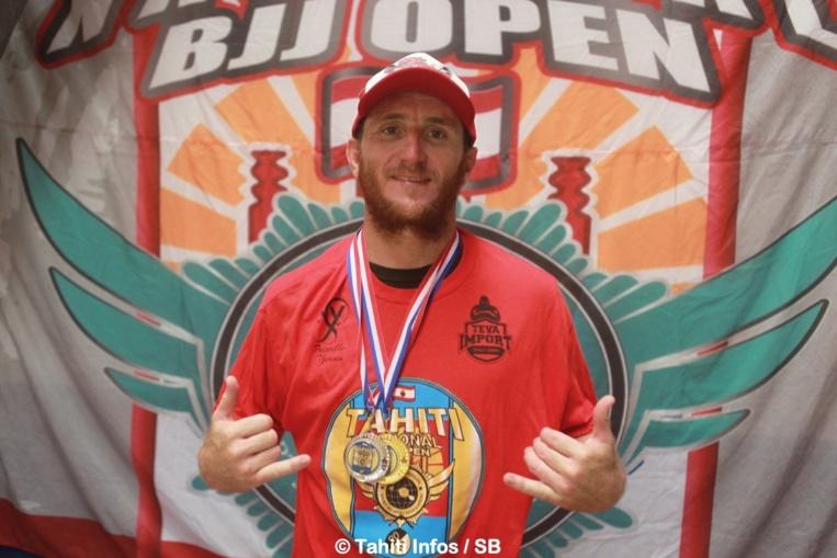 Steven Pierson, 1er en - de 76 kg