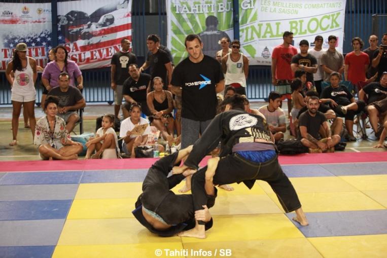 Le jiu jitsu est un des sports de combat les plus appréciés en Polynésie française