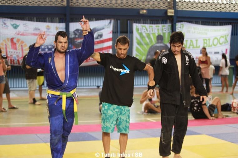 Manatua Lie de la Tahitian Top Team, 3e en + de 100 kg