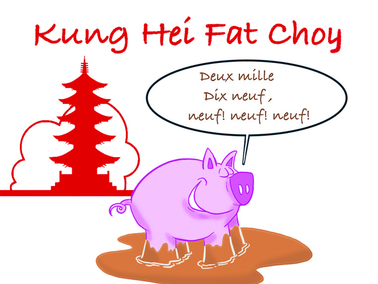 """ Nouvel An chinois : Kung Hei Fat Choy "" par Munoz"