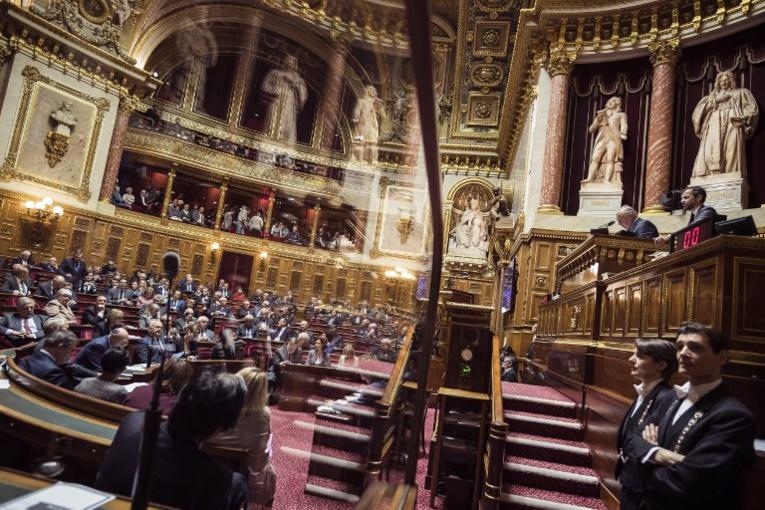 Le gouvernement français ayant engagé la procédure accélérée sur les deux textes le 12 décembre, ceux-ci pourraient ne faire l'objet que d'une seule lecture au Parlement. Photo : AFP