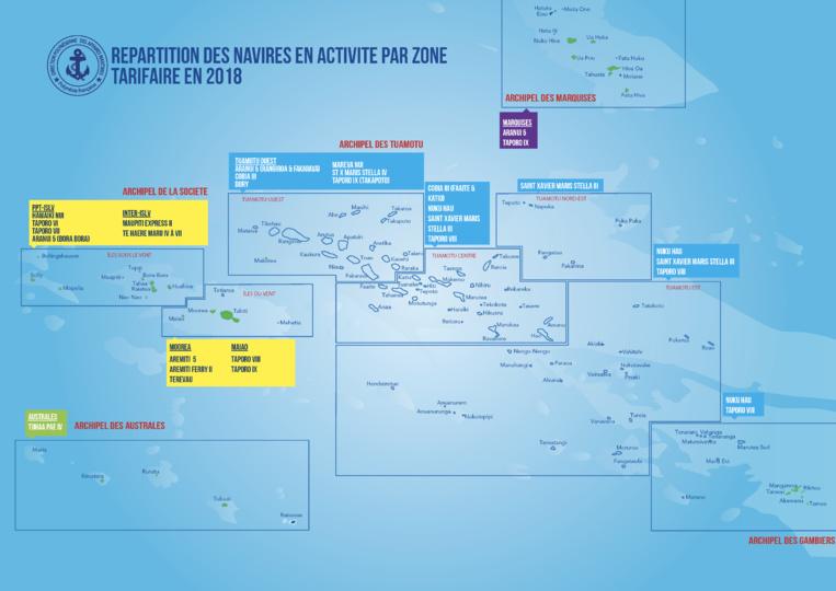 Le nouvel atlas des lignes maritimes est sorti