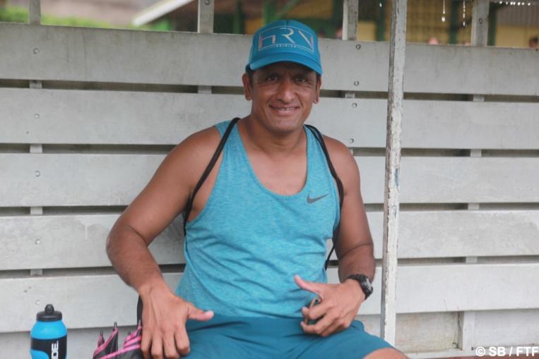 Xavier Samin, coach de Te ui Tefana