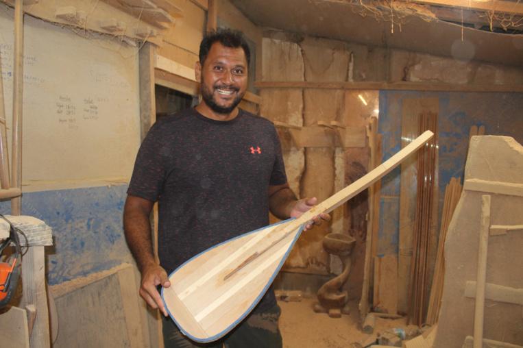 Kevin Holozer a monté sa société de rame de va'a, Marere Tahiti, il y a quatre ans et demi.