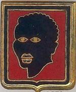 Ecusson du GT Sénégal. (Fonds Shigetomi).