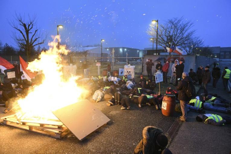 Le site de Stocamine bloqué par des opposants à l'enfouissement des déchets toxiques