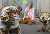 Manifestation de Greenpeace contre les jouets complices de la déforestation