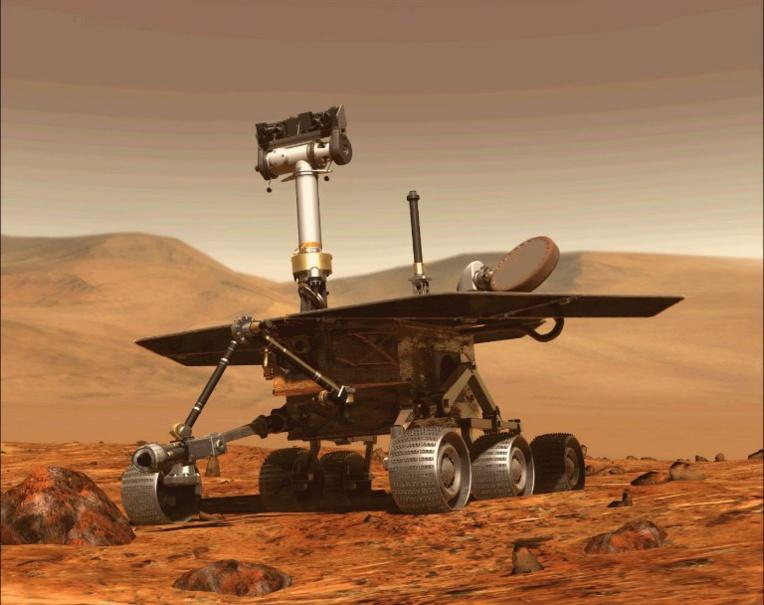 Mort du robot martien Opportunity (2004-2018)
