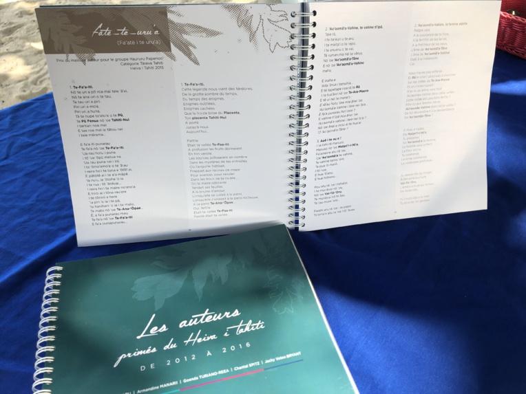 Les textes et auteurs primés au Heiva mis à l'honneur dans un livre
