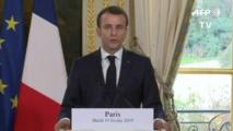 """La France secouée par l'antisémitisme, Macron promet d'agir et de """"punir"""""""