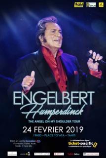 Engelbert Humperdinck pour la 1ère fois à Tahiti