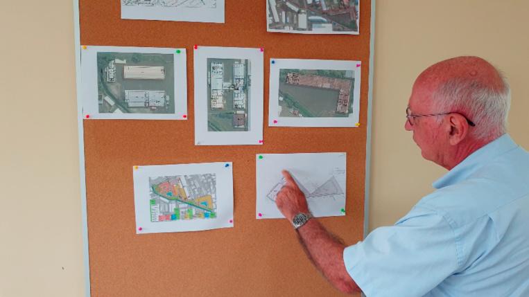 Les travaux de dépollution et de démolition se feront en trois phases.