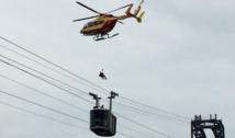 Savoie: plus de 100 skieurs évacués d'une télécabine à la station des Menuires
