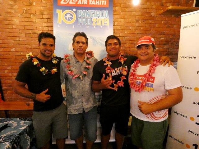 Surf Pro – Rangiroa Pro 2019 : Le choc Tahiti-Hawai'i en direct