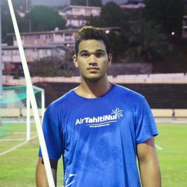 Teura Tupaia, un de nos meilleurs athlètes