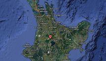 Fort séisme au Sud-est d'Auckland