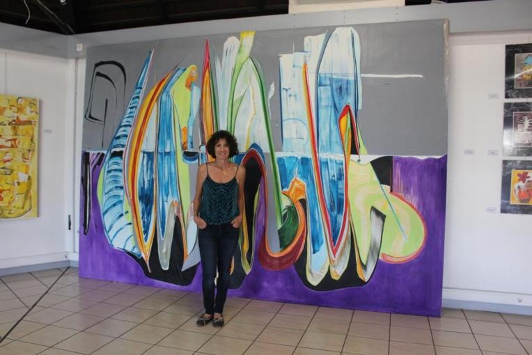 Patricia Bonnet présente ses toiles et… dessins