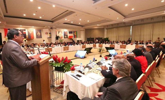 Le 17e Forum PTOM-Union Européenne s'est tenue en présence du président de la Polynésie française, Edouard Fritch, de la ministre des Outre-mer, Annick Girardin, et du commissaire européen, Neven Mimica.