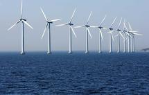 La France se met à l'éolien off-shore, bien après ses voisins européens