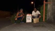 Arrivés à la Punaru'u très tard dans la soirée après 17 heures de marche.crédit : Facebook Nana sac plastique.