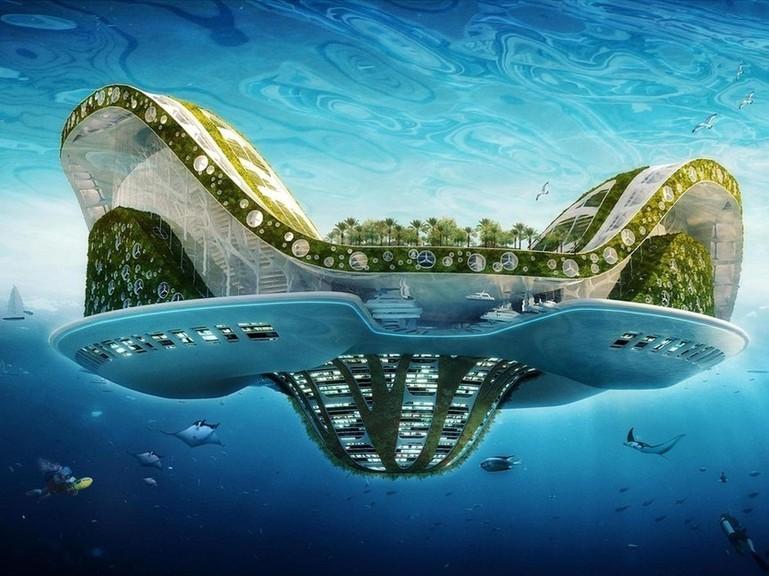 Lilypad, une cité flottante et écologique | © Vincent Callebaut Architectures