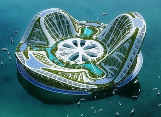 Lilypad : cité flottante pour réfugiés climatiques