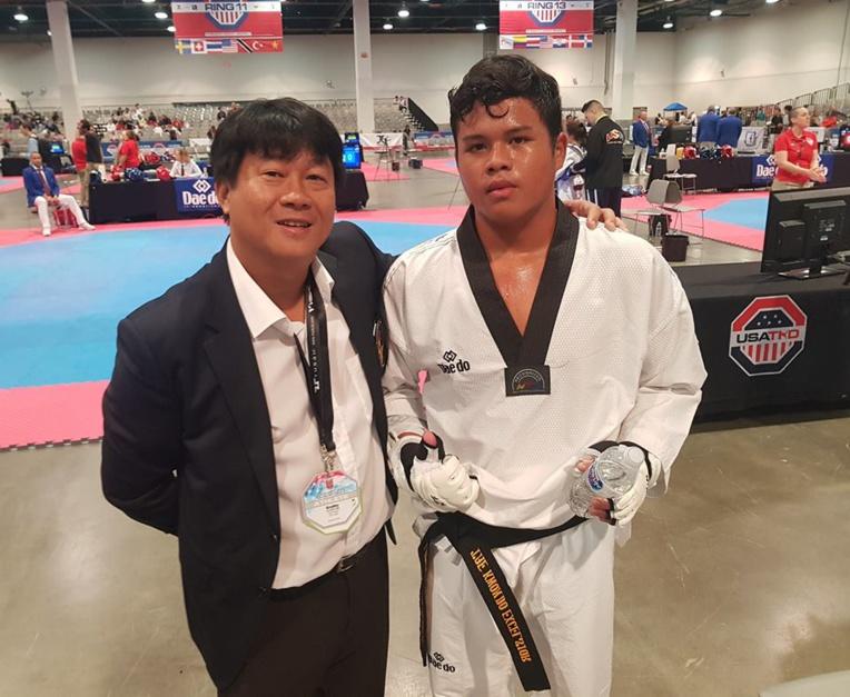 Bradley Lai Koun Sing est passé très près de la médaille d'or